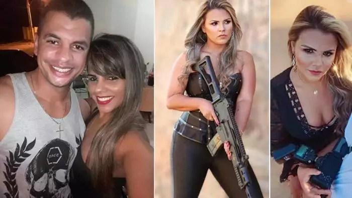 PM bolsonarista que posava com armas é vítima do próprio marido, que teria suicidado em seguida.