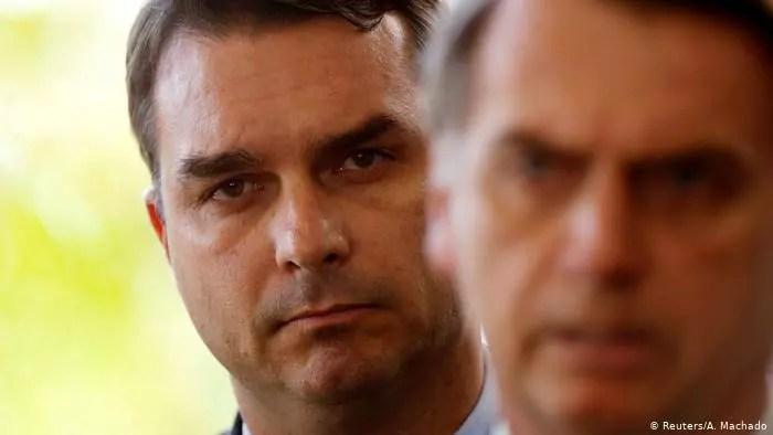 F. Bolsonaro está ligado a esquema criminoso de valor incalculável, pelo MP-RJ.