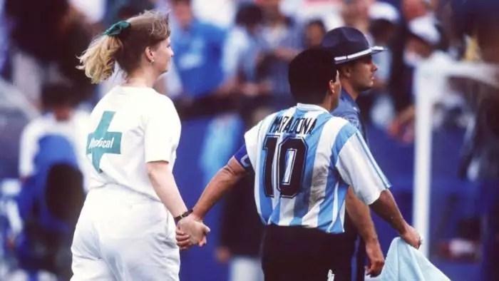 Maradona: os pobrecitos del Brasil e la traición!