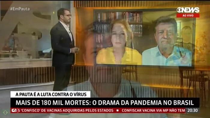 Mandetta da entrevista forte contra Bolsonaro, na GloboNews e classifica governo como ditadura na saúde.