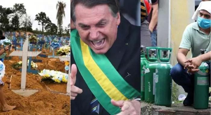 Pazuello coloca Bolsonaro no centro da crise do oxigênio de Manaus, com possível crime de responsabilidade.