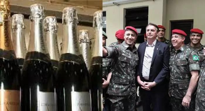 MAMATA: Forças Armadas compraram lombo de bacalhau e uísque 12 anos