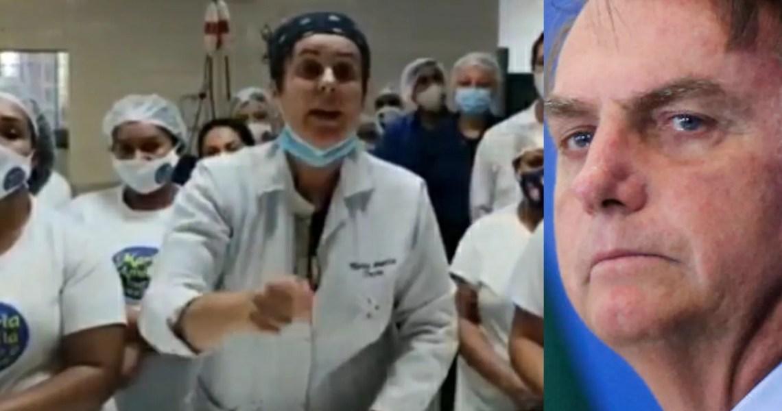 Insanidade: Bolsonaro posta vídeo incentivando manifestações contra governadores