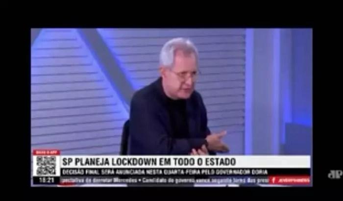 Vídeo: Por que a grande mídia e MP não denunciam Augusto Nunes e sua patota por incitação à contaminação por Covid?