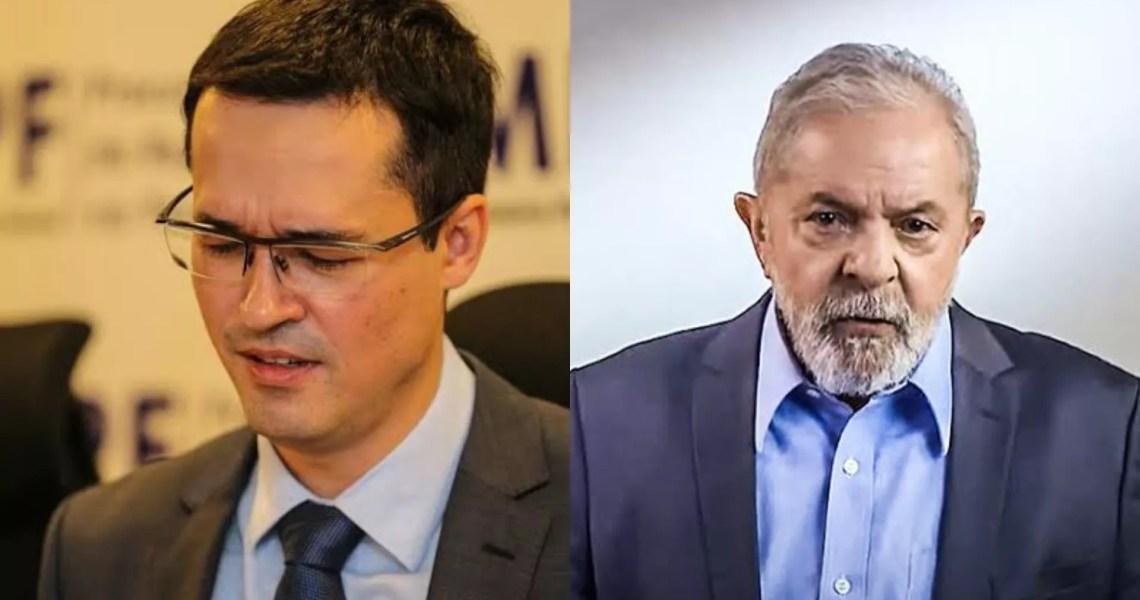 Dallagnol: tudo em cima do Lula!