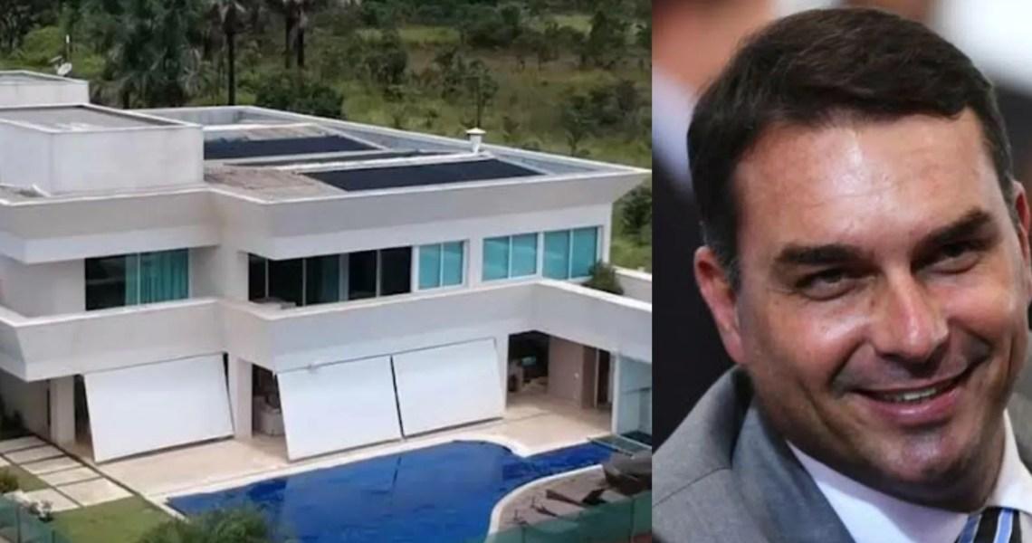 CPI da Covid: Mansão de Flávio Bolsonaro é palco de encontros para orientar bolsonaristas antes dos depoimentos