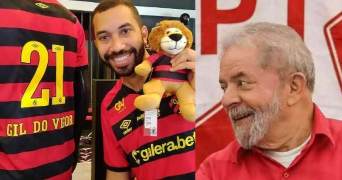 Lula presta solidariedade a Gil, vítima de homofobia por parte de dirigente do Sport
