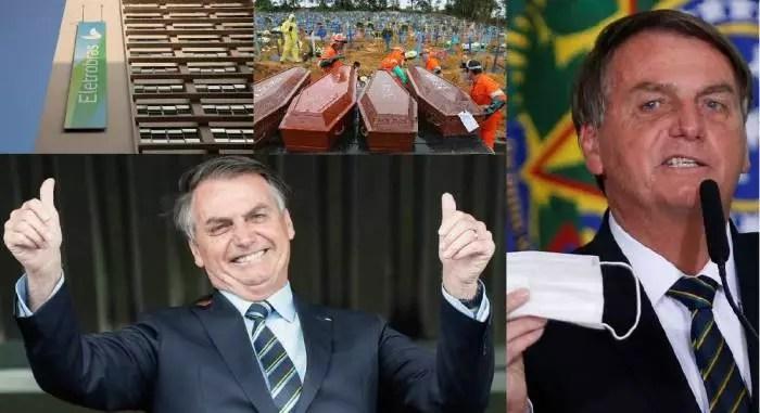 Racionamento de luz, gasolina a R$ 7,00, fome, morte e miséria. Esse é o legado do gov. Bolsonaro.