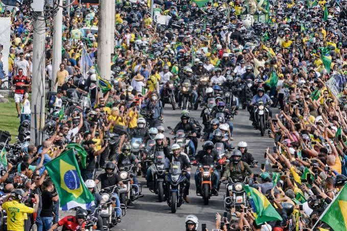 Policiamento de motociata de Bolsonaro custou R$ 1,2 milhão, diz governo
