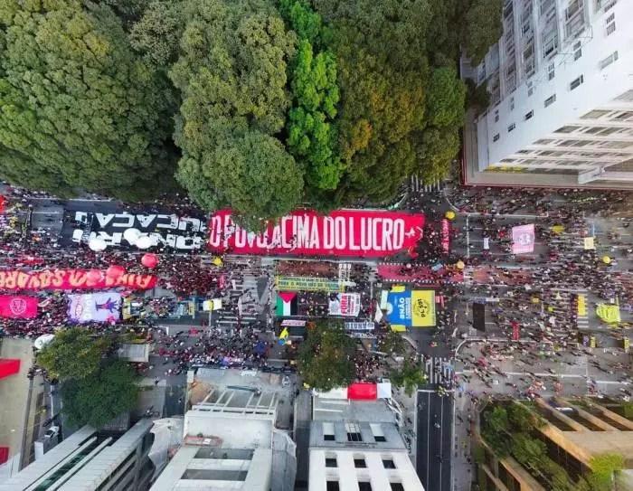 600 mil pessoas foram às ruas em todo o Brasil, afirma reorganização.