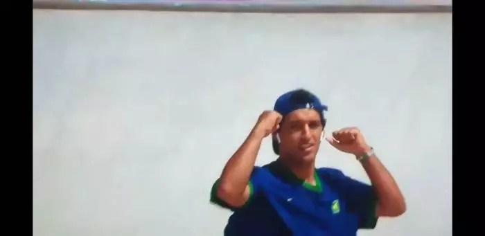 Vídeo: É do skate a primeira medalha brasileira.