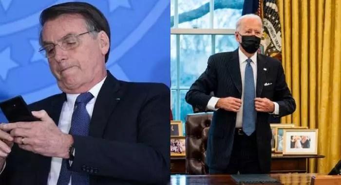 Bolsonaro será alvo na Cúpula pela Democracia, liderada por Biden.