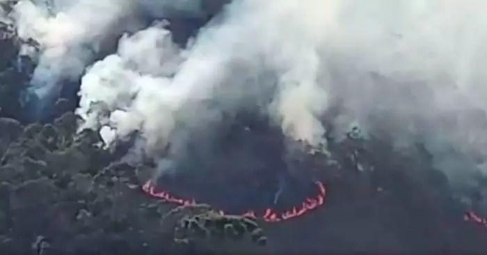 Vídeos: Sem apoio estadual e federal, Parque da Serra do Papagaio é destruída pelo fogo, no sul de Minas.