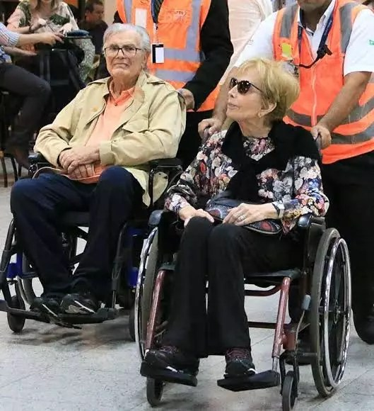 Tarcísio Meira e Glória Menezes estão internados com Covid-19 em São Paulo