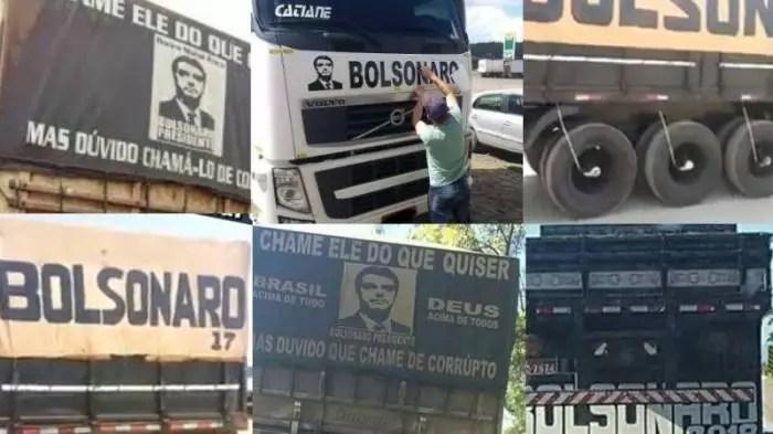 Caminhoneiros processam Bolsonaro e seus apoiadores por atos no 7 de setembro