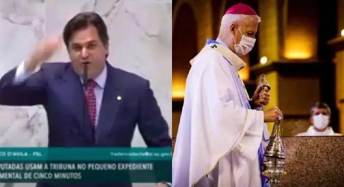 Vídeo: CNBB exige ação contra deputado bolsonarista que xingou arcebispo de Aparecida e o papa