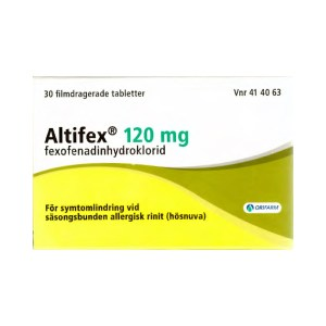 Altifex 120 mg 30 filmdragerade tabletter