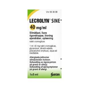 LECROLYN SINE 40 mg/ml 5 ml