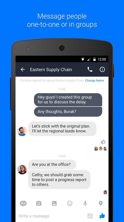 facebook-work-chat-app