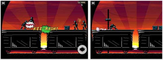 Screenshot iPhone App Action Hero von Donut Games