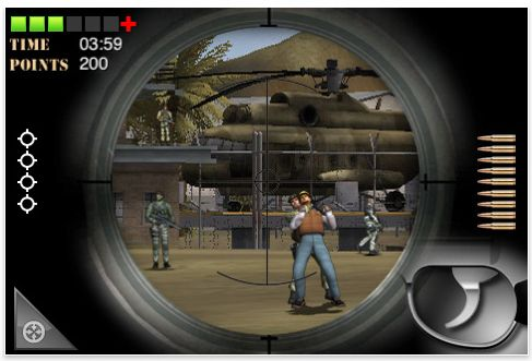 Screenshot Marine Sharpshooter für iPhone und iPod Touch