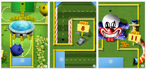 Screenshots Mini Touch Golf