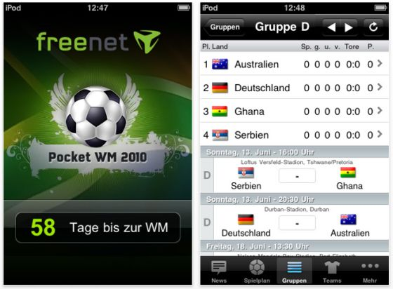 Screen Pocket WM iPhone App