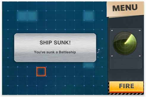 Screenshot iPod Touch App Warships