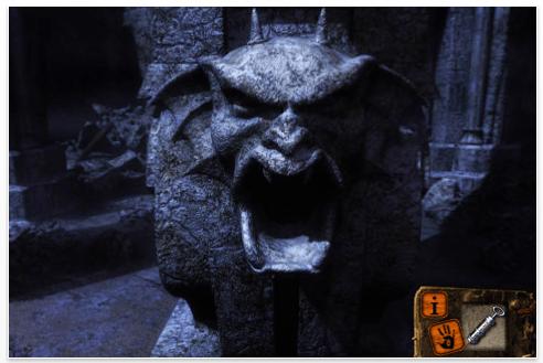 Screenshot iPhone App Dracula Path of the Dragon Part 3