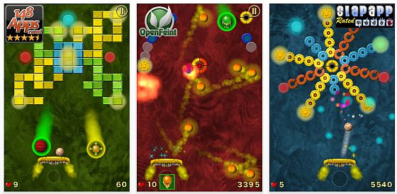 Screenshot Jet Ball für iPhone und iPod Touch
