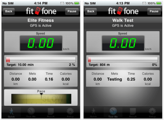 Fitfone Screen