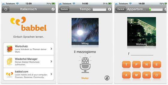 Babbel_italienisch_Screen