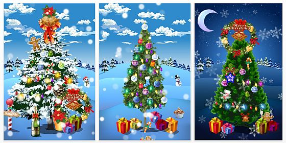 iPhone App Christmas Delights Screenshots