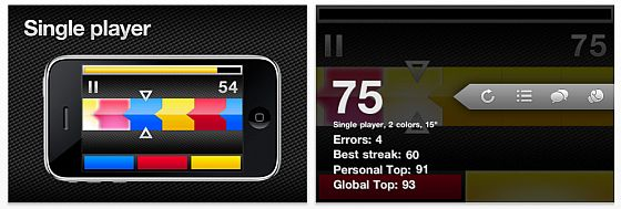 Screenshot TreeConnect iPhone-App