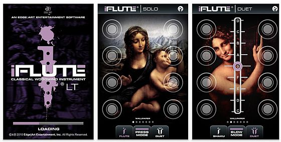 iFlute Screenshots