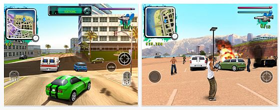 Gameloft Gangstar: West Coast Hustle HD Screenshots