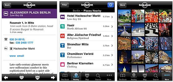 Lonely Planet City-Guides Screenshot