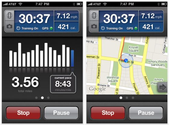 Runkeeper Pro Screenshot