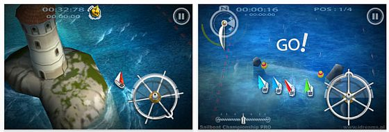 Sailboat Championship Pro für iPhone und iPod Touch Screenshots