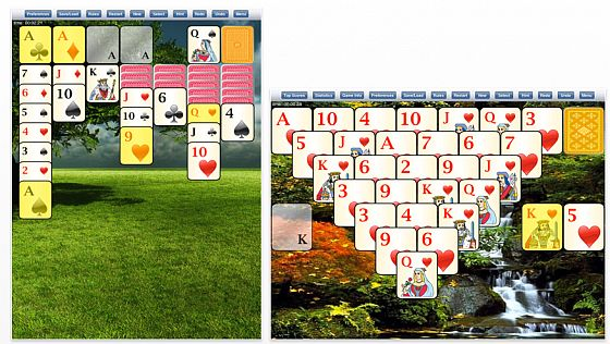 700 Solitaire Games Screenshot