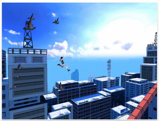 Mirror's Edge Screenshot (iPad Version)