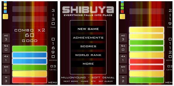 Shibuya Puzzle-App für iPhone und iPod touch