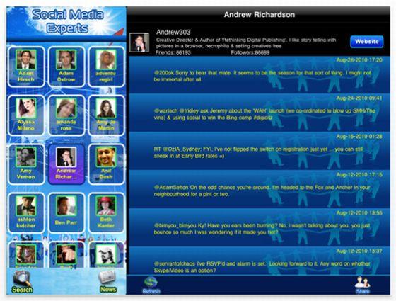 Social Media Experts Screenshot