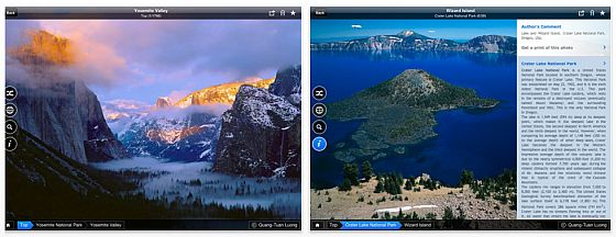 Fotopedia National Parks App für iPhone, iPod Touch und iPad