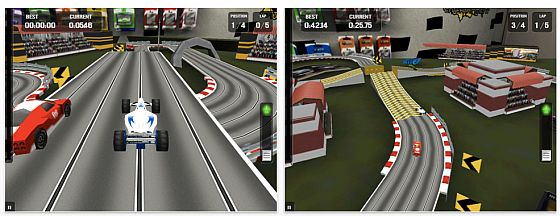 High Tech Racing HD für das iPad Screenshots