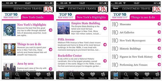 New York City Top 10 DK Screenshot
