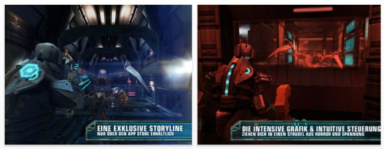 Dead Space HD für iPad Screenshots