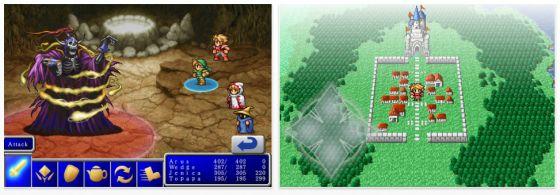 Final Fantasy für iPhone und iPod Touch Screenshots