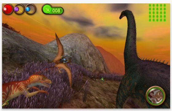 Nanosaur2 - Spiel für den Mac - Screenshot