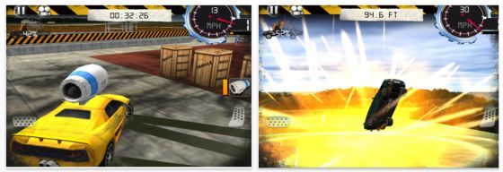 Top Gear: Stunt School für iPhone, iPod Touch und iPad - Screenshots